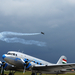 Repülőnap 2010 - a Breitling formáció vezérgépe a LI-2 - vel