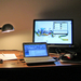 my desk at virgo