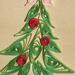 Quilling Karácsonyfa
