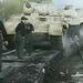 Párduc tankok berakodása
