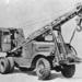 Amerikai Quick-Way E daru Brockway C666 alvázon 1942