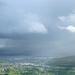 Pécs - vihar a Jakab-hegy alján