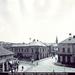 Salgótarján, régen a Pécskő út megy balra, az Erzsébet tér