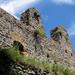 Somoskői vár, déli várfal maradvány
