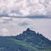 Somoskői vár, kilátás a Salgói várra