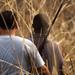 Hunters in the bush